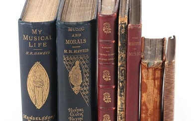 Antique Music themed 7 books: Lady of the Lake