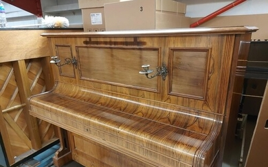 Bechstein (c1904) A Model 9 upright piano in a rosewood case...