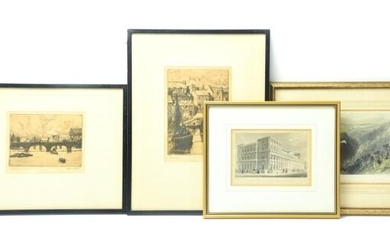 Collection English Etchings & Engravings