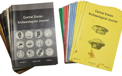 Compete set of 1990's Central States Journals.