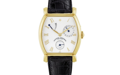 VACHERON CONSTANTIN, GOLD POWER RESERVE WITH DATE