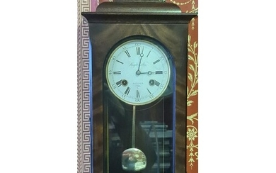 WALL CLOCK - KNIGHT & GIBBONS LONDON CLOCK MAKERS - W/O WITH...