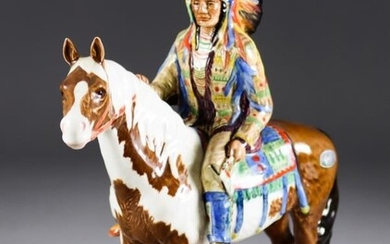 A Beswick Pottery Model of a Native North American...