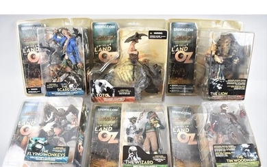 A Collection of Six Spawn.com Twisted Land of Oz Figure Sets...