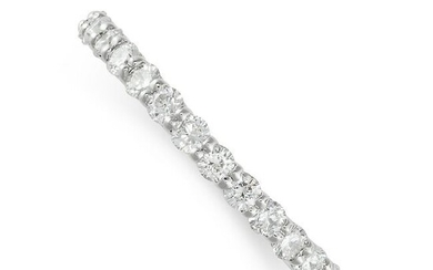 A DIAMOND FULL ETERNITY RING the band set all around