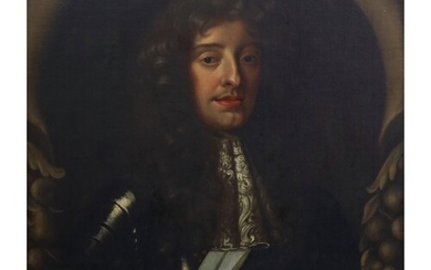 After Sir Peter Lely (1618-1680) Portrait of Charles II Oil ...