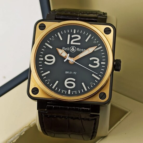 Bell & Ross - Instruments Automatic Rose Gold & Carbon - BR 01-92 - Men - 2011-present