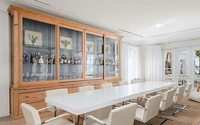 CONTEMPORARY CUSTOM MADE CONFERENCE/DINING TABLE