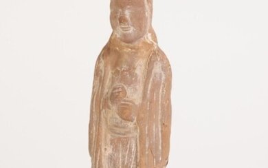 Chinese Pottery Standing Figure, Tang Dynasty A9WB