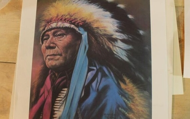 Clarence Thorpe Native American Picture