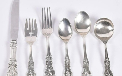 Reed & Barton Sterling Silver Flatware Service for 12