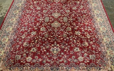 Room Size Hand Knotted Rug - 11'8 x 8'3