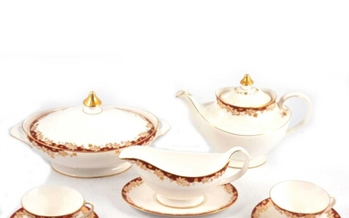 Royal Doulton 'Winthrop' pattern part dinner and tea service.