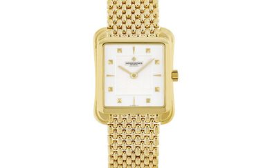 VACHERON CONSTANTIN, GOLD BRACELET WATCH