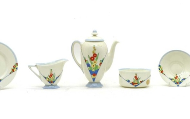 A Royal Doulton 'Leonora' pattern part tea and coffee wares