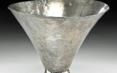 Large / Fine Sican Silver Conical Beaker
