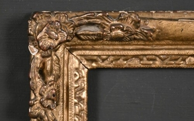 Late 18th Century French School. A Carved Giltwood Louis Fra...