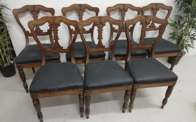Set of 8 French Chairs