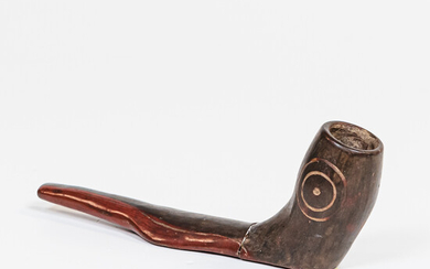 Southwest-style Pottery Pipe