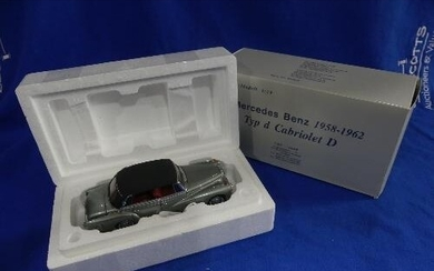 A CMC 1:24 scale model of the 1958-1962 Mercedes Benz Typ D ...