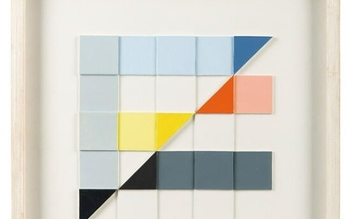 § Michael Canney (British 1923-1999) Relief 2, 1985