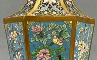 Cloisonne vase. Probably China, Japan antique.