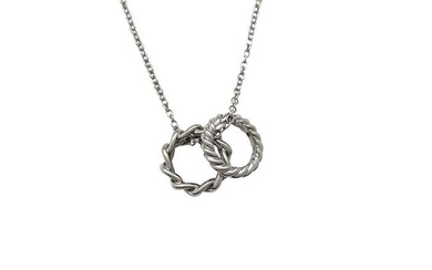 Pomellato - 18 kt. White gold - Necklace with pendant