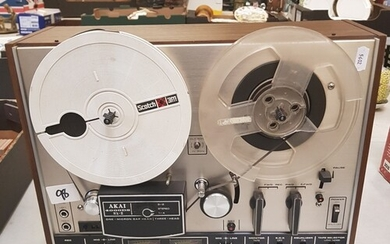 An Akai 400DS Mk2 reel to reel player: Fully tested and work...
