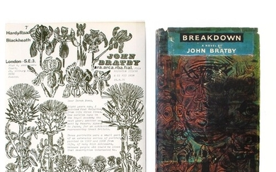 Bratby, John. Breakdown, first edition with a three page sig...