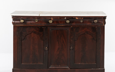 Empire Marble-top Sideboard