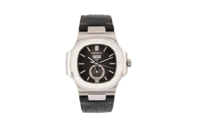 PATEK PHILIPPE. A BRAND NEW MEN'S STAINLESS STEEL