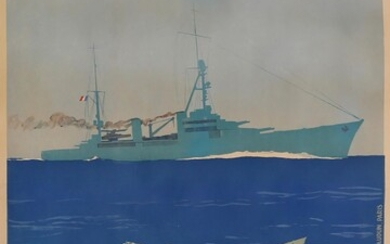 Sign up for the Navy Lithographic poster signed in the...