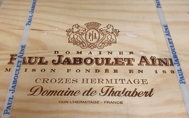 Three Magnums of Chateau Paul Jaboulet Aine, Crozes Hermitag...