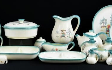 """108pc Set """"Forever Yours"""" China By Brock of California"""