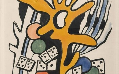 After Fernand Leger (French, 1881-1955) Les Dominos