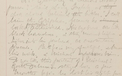 Edwardian Novelist.- [Barclay (Florence Louisa, novelist, 1862-1921)] [The Mistress of Shenstone], autograph manuscript, numerous corrections and crossing out, [1910].