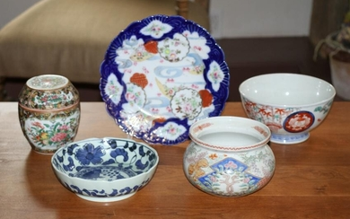 Group of Miscellaneous Chinese Porcelains