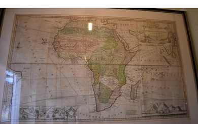 MAP OF AFRICA: 'To the Right Honourable Charles Earl of...