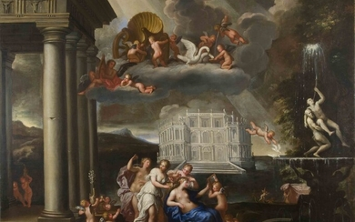 "Francesco Albani, ""The Toilet of Venus"""
